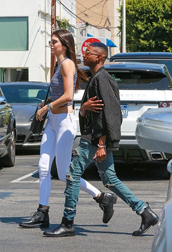 Kendall Jenner à Los Angeles le 22 août 2014