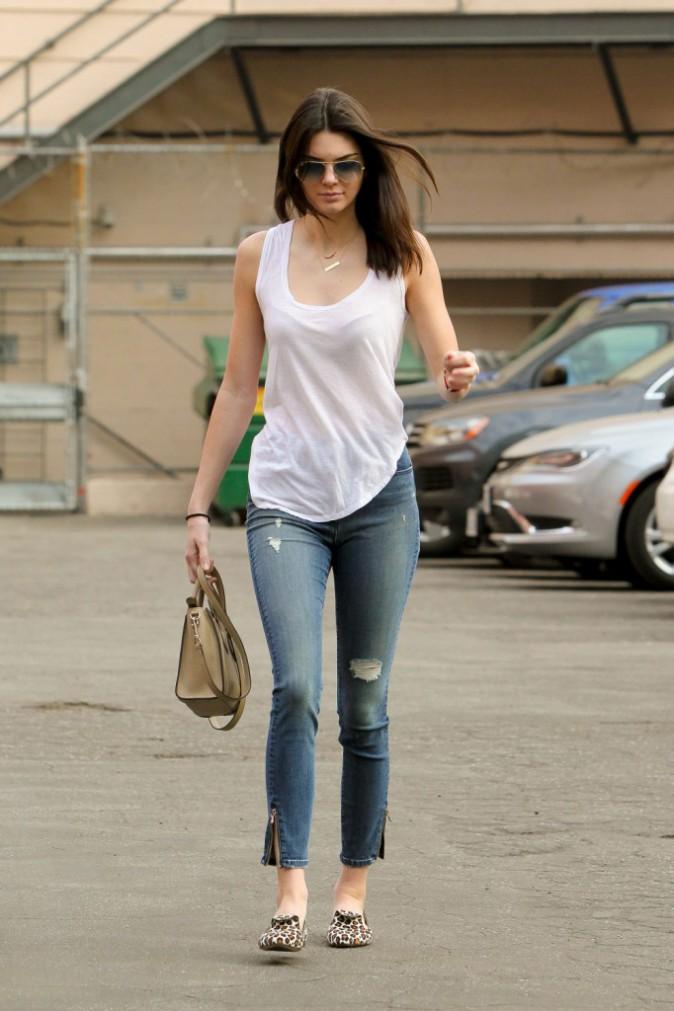 Kendall Jenner le 8 janvier 2015