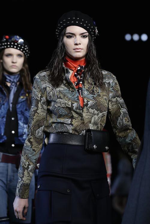 Photos : Kendall Jenner : la nouvelle reine des podiums en mode guerrière pour Marc Jacobs !