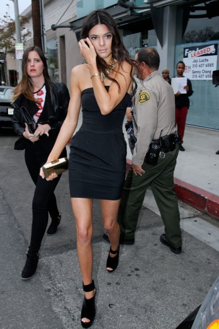 Kendall Jenner, Los Angeles, 24 avril 2013.