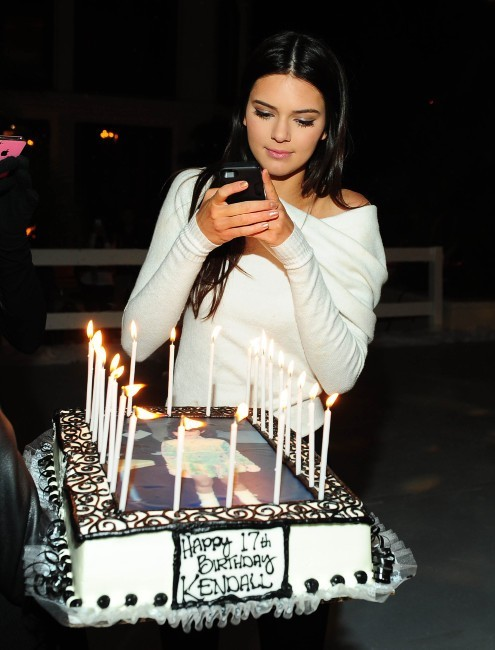 Kendall Jenner, Los Angeles, 11 novembre 2011.
