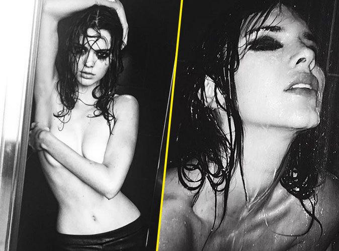 Kendall Jenner : topless et ultra sensuelle, elle fait monter la température !