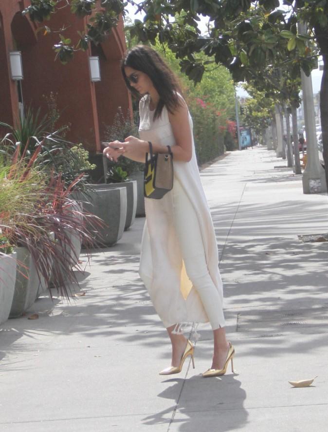 Photos : Kendall Jenner : un super look inspiré par Kim Kardashian !