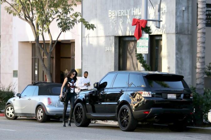 Kendall Jenner le 6 janvier 2014