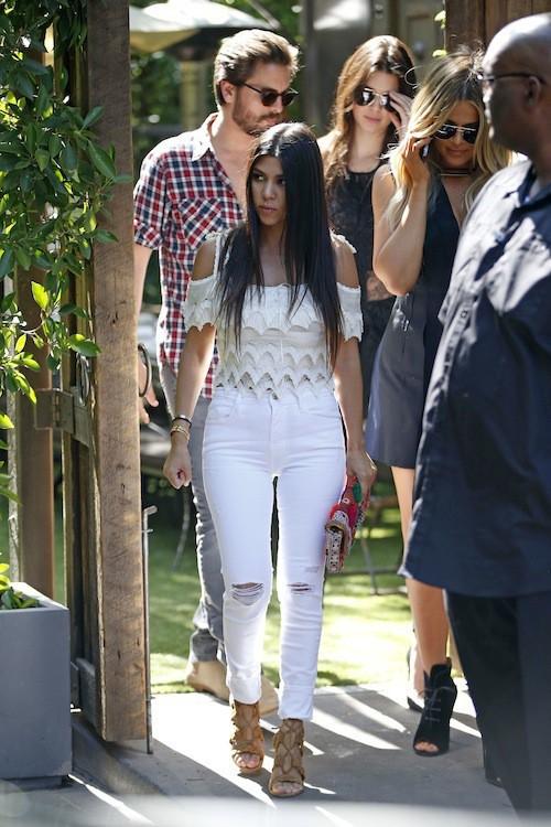 Photos : Kendall, Kourtney, Scott et Khloe : un clan fashion au cœur de toutes les attentions !