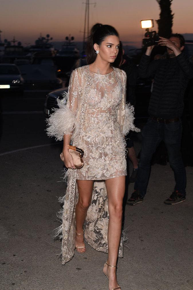 Kendall Jenner à Cannes le 16 mai 2016
