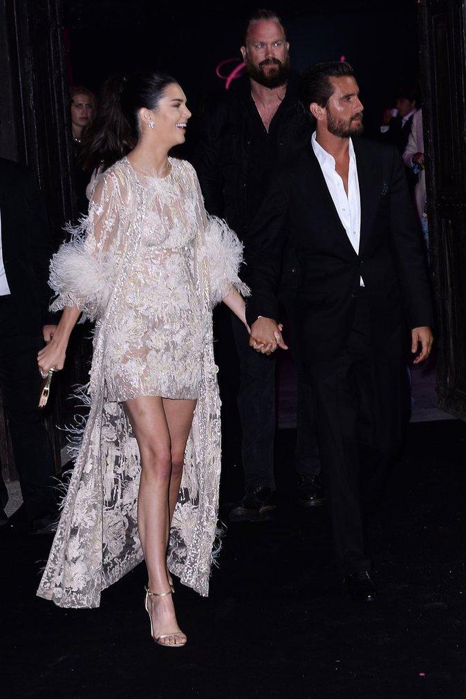 Scott Disick et Kendall Jenner à Cannes le 16 mai 2016