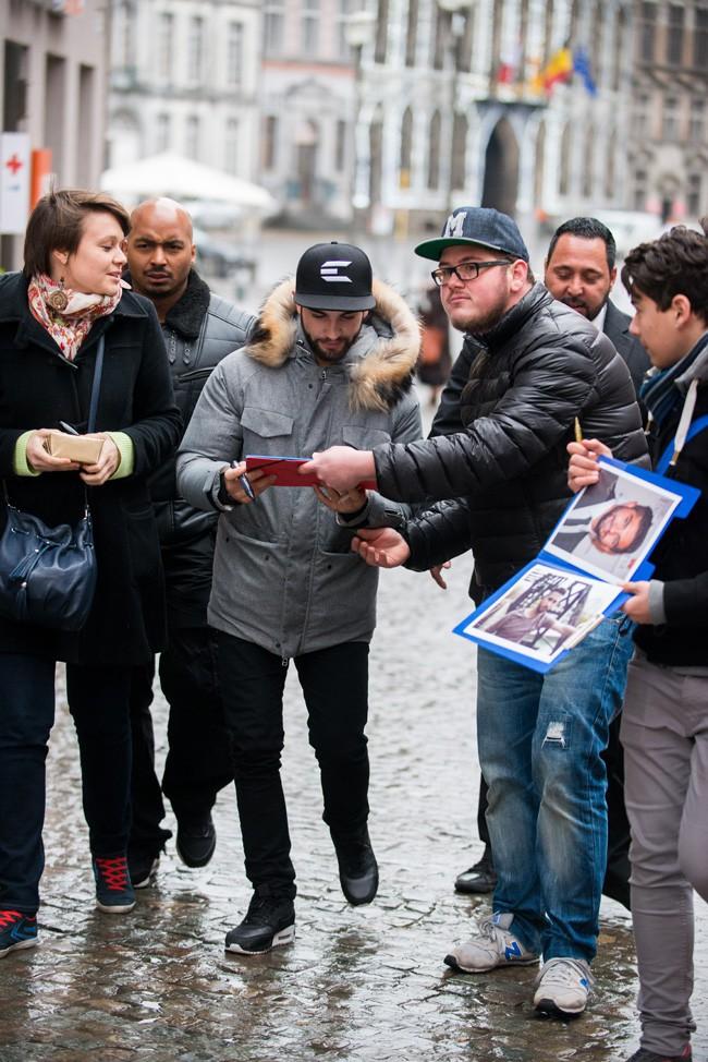 Kendji Girac à Mons le 29 janvier 2015