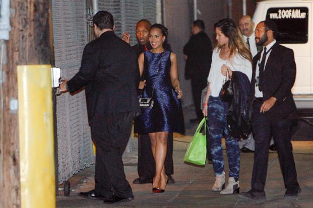 Kerry Washington à Los Angeles le 29 janvier 2015