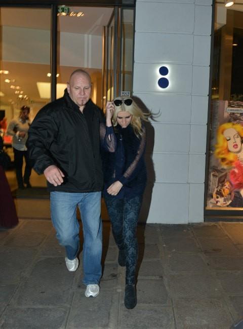 Kesha le 15 octobre 2012 à Paris