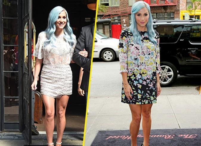 Kesha : des looks hauts en couleurs pour sa promo à New York !