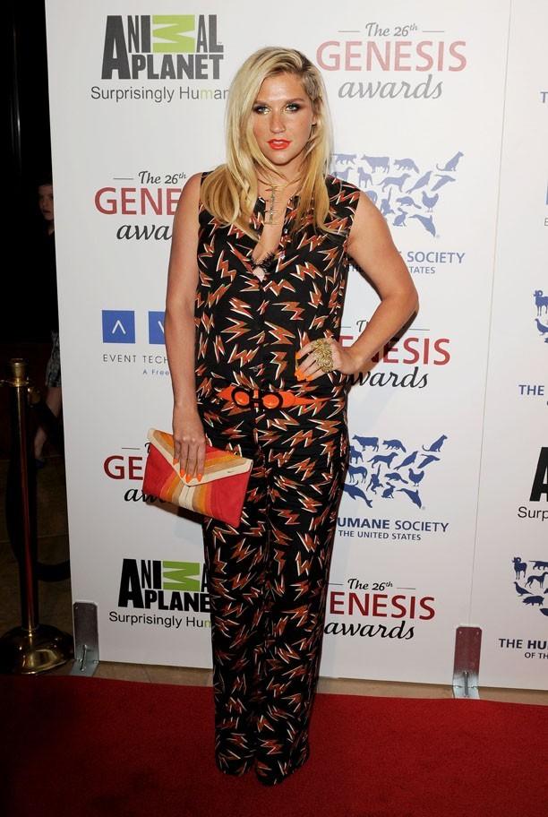 Kesha, le 25 mars à Los Angeles