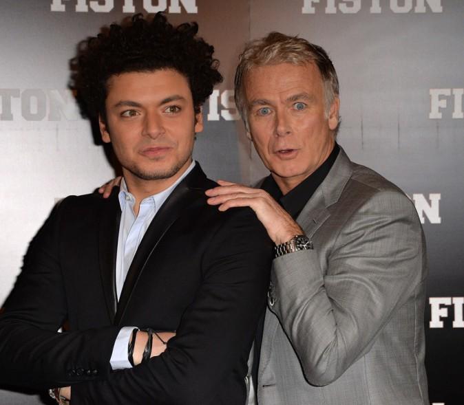 Kev Adams avec Franck Dubosc, son partenaire dans Fiston