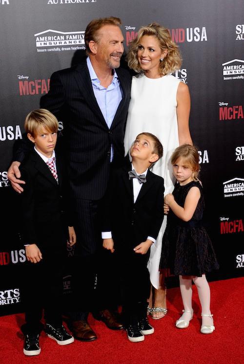 Photos : Kevin Costner : amour et enfants blasés pour la première de McFarland, USA !