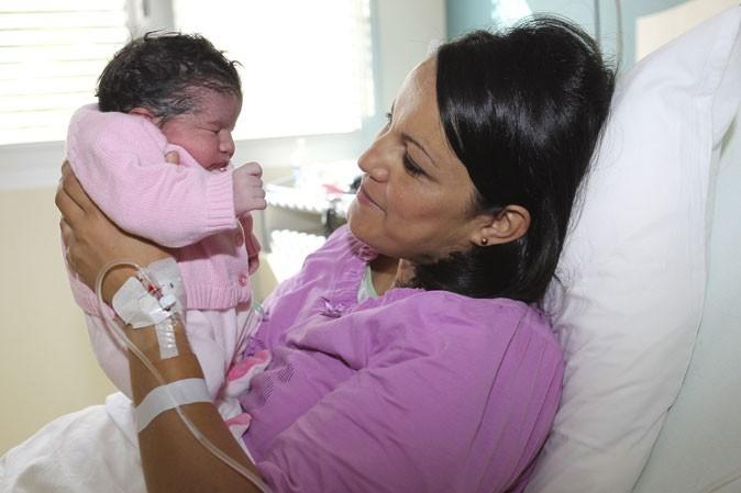 Photo : un tête à tête complice entre la mère et la fille !
