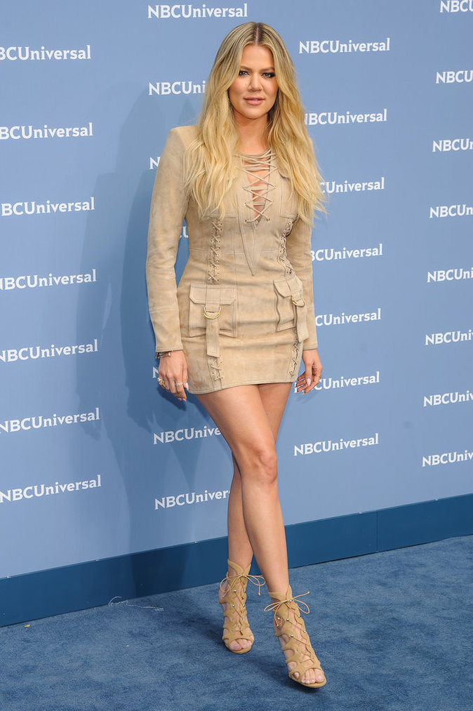 Khloe Kardashian au Up Front de NBC à New York le 16 mai