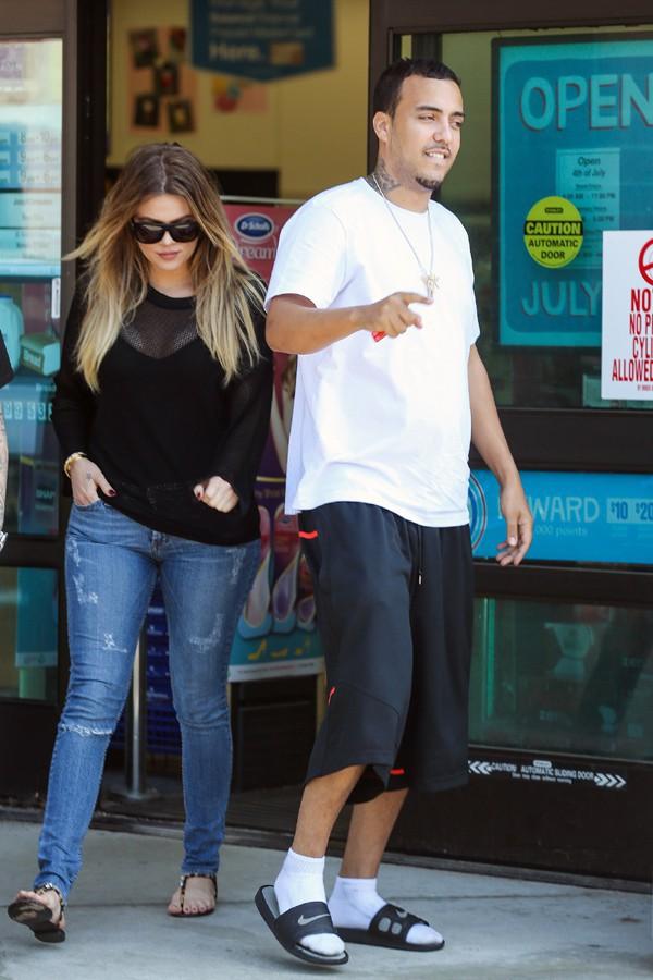 Khloé Kardashian et French Montana à New-York le 25 juin 2014