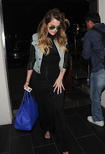 Khloé Kardashian à Los Angeles le 28 juillet 2014