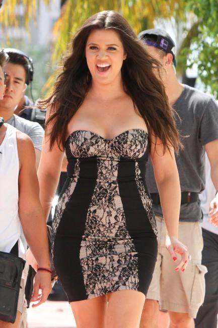 Khloe Kardashian à Miami, le 10 octobre 2012.