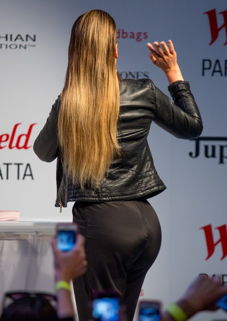 Khloe Kardashian en promo à Sydney, le 21 novembre 2013.