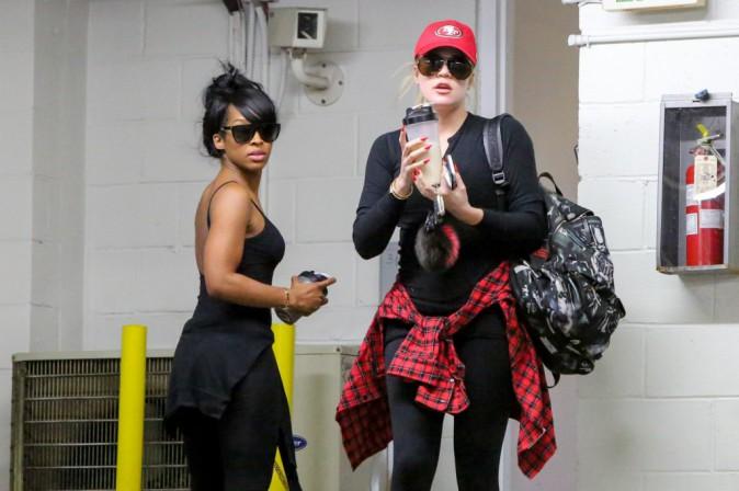 Photos : Khloe Kardashian : de retour au sport avec Malika, son alliée pour être au top !