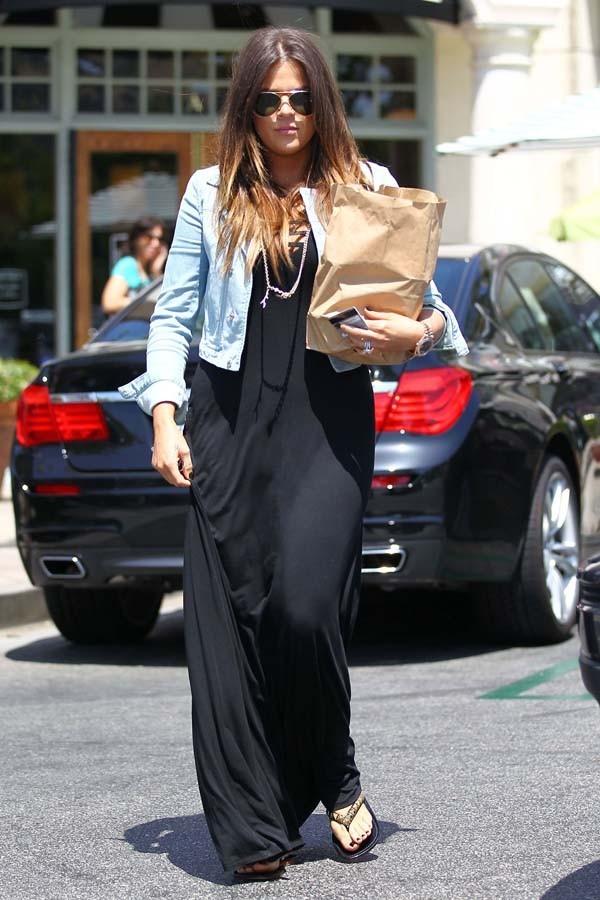 Khloe Kardashian à Los Angeles le 13 juin 2012
