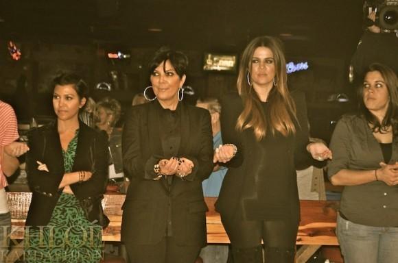 On repère vite les Kardashians !