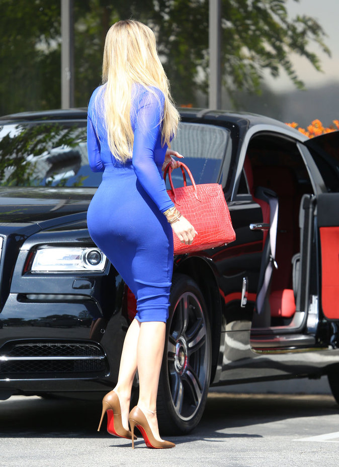 Khloe Kardashian à Los Angeles le 11 mai 2016