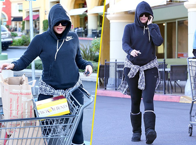 Khloe Kardashian : elle faisait ses courses pendant que Kourtney accouchait !