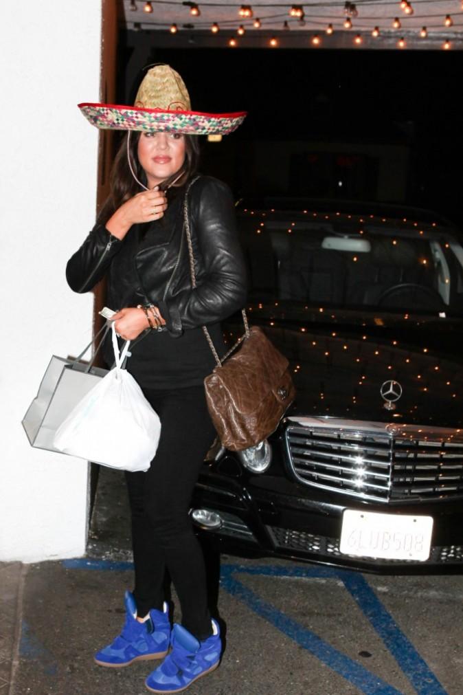 Khloe et le sombrero de la discorde !