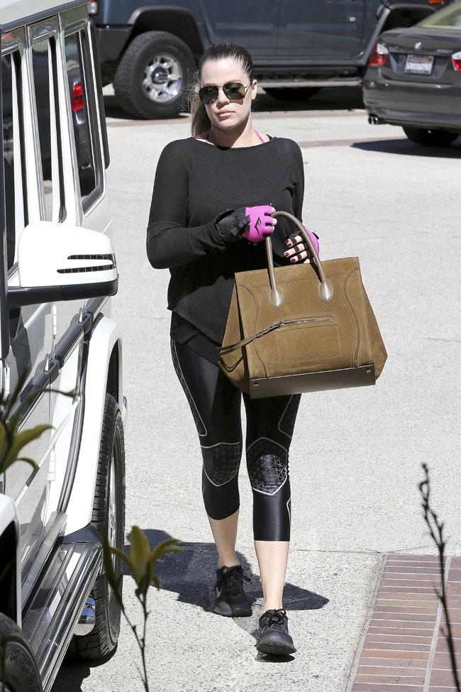 Khloe Kardashian à Studio City le 27 septembre 2013