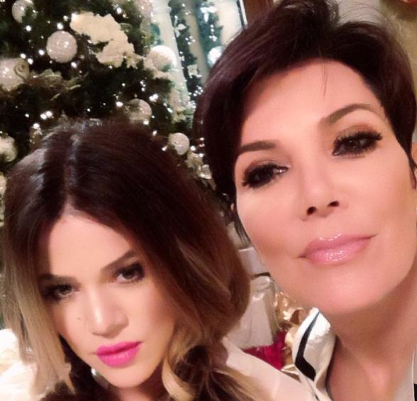 Khloé Kardashian et Kris Jenner