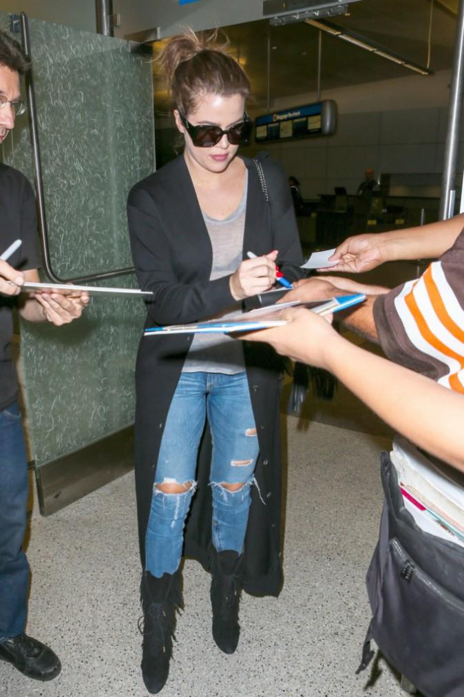 Khloe Kardashian à Los Angeles le 12 octobre 2014