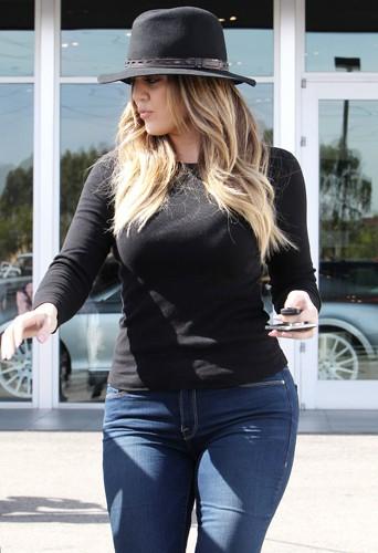 Khloé Kardashian à Los Angeles le 20 février 2014