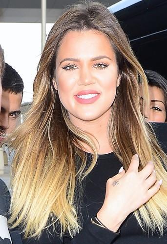Khloé Kardashian à New York le 3 juillet 2014
