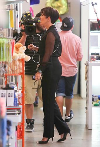 Kris Jenner à Beverly Hills le 2 octobre 2013