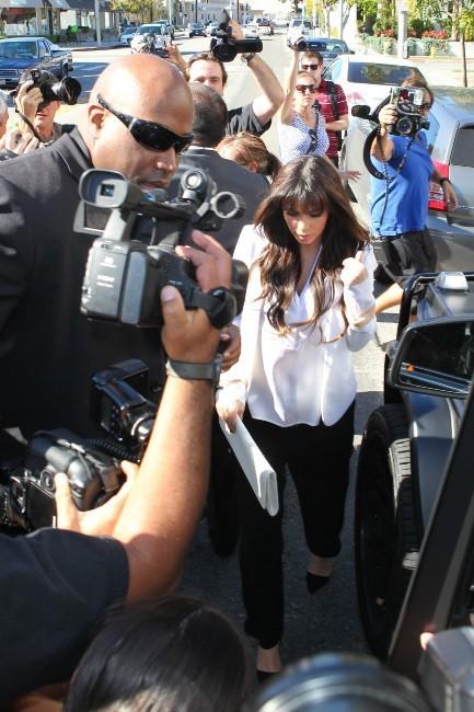 Kim Kardashian le 13 mars 2013 à Beverly Hills
