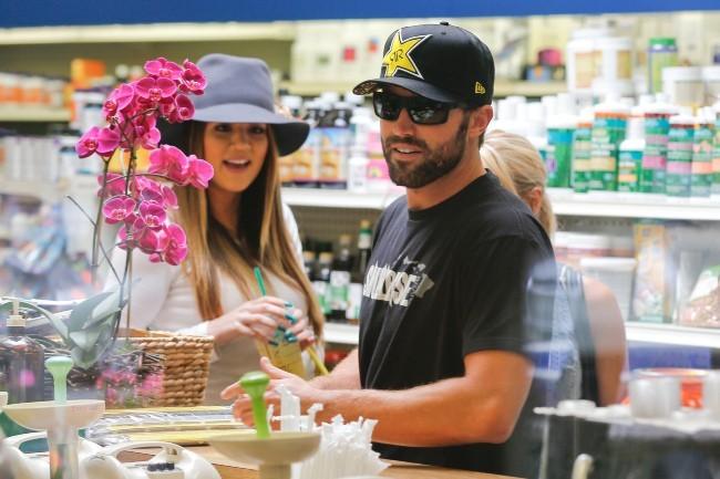 Khloe Kardashian et Brody Jenner à Los Angeles, le 3 juillet 2013.