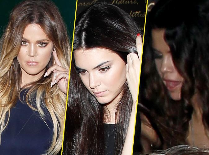 Khloe Kardashian, Kendall et Kylie Jenner : folle soirée d'anniversaire avec Selena Gomez !