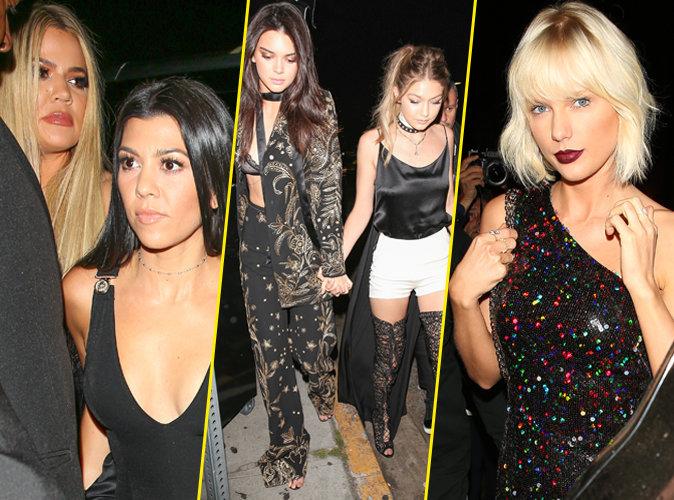 Photos : Khloe Kardashian, Kendall Jenner, Taylor Swift... toutes au top pour Gigi Hadid !