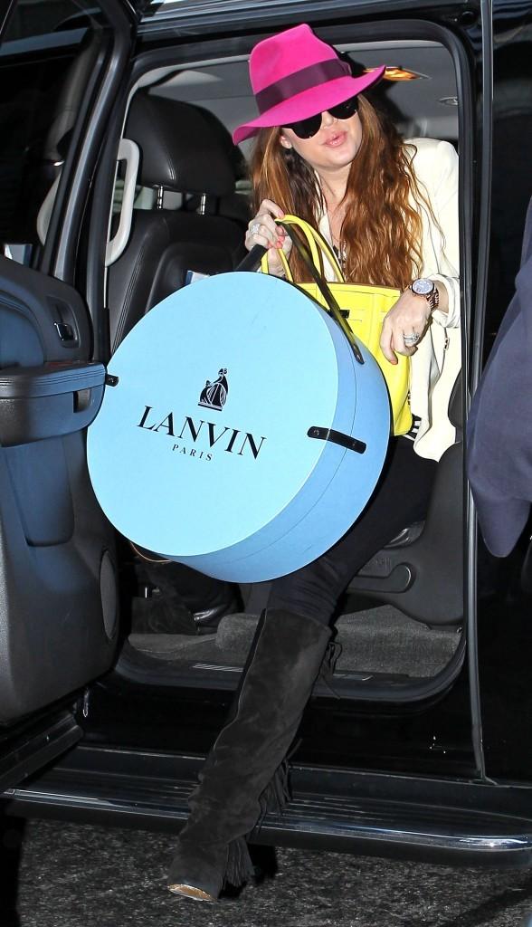 Dur de sortir de la voiture avec un sac comme ça...