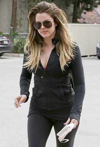 Khloé Kardashian à Los Angeles le 15 février 2014