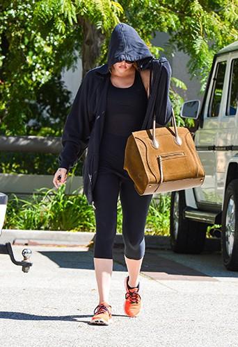 Khloe Kardashian à Los Angeles le 5 octobre 2013