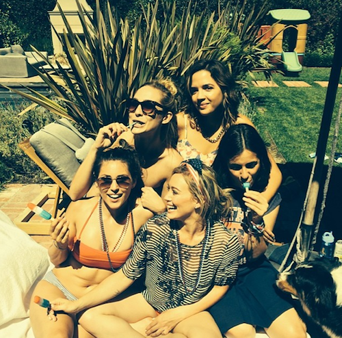 Hilary Duff et ses copines