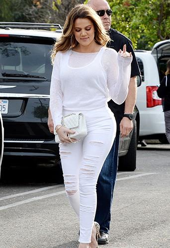 Khloé Kardashian à Los Angeles le 31 janvier 2014