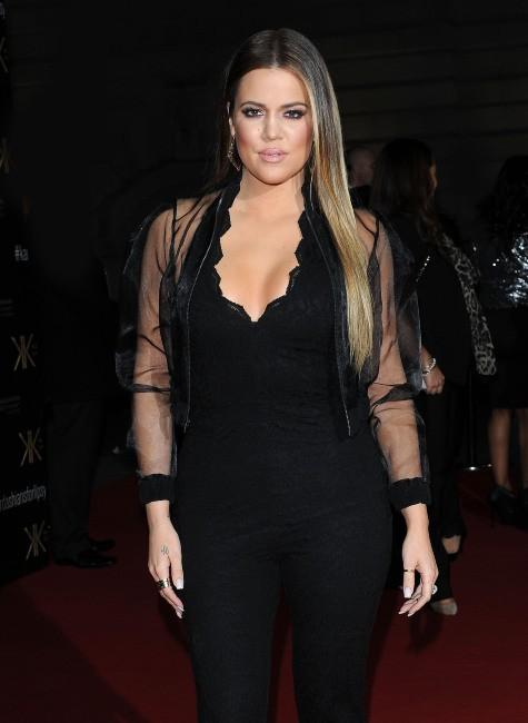 Khloe Kardashian en promo à Londres, le 14 novembre 2013.
