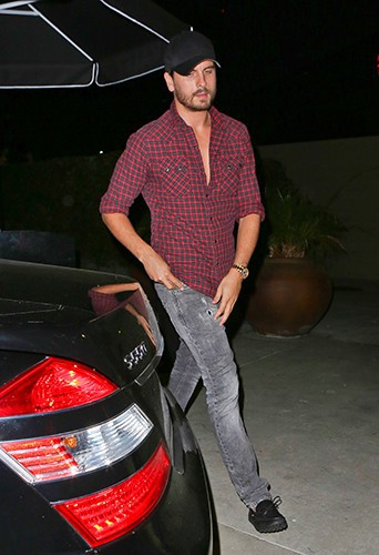 Scott Disick à Los Angeles le 23 septembre 2013