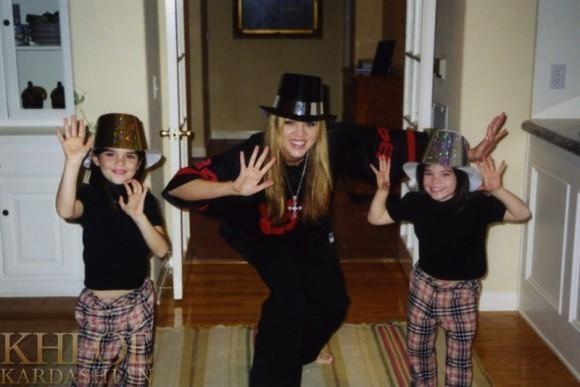 Khloé, Kendall et Kylie