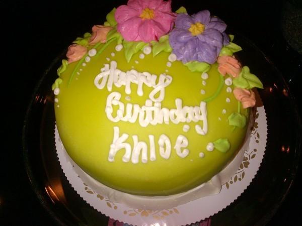 Un beau gâteau