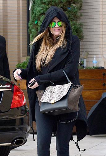 Khloé Kardashian à Los Angeles le 19 décembre 2013